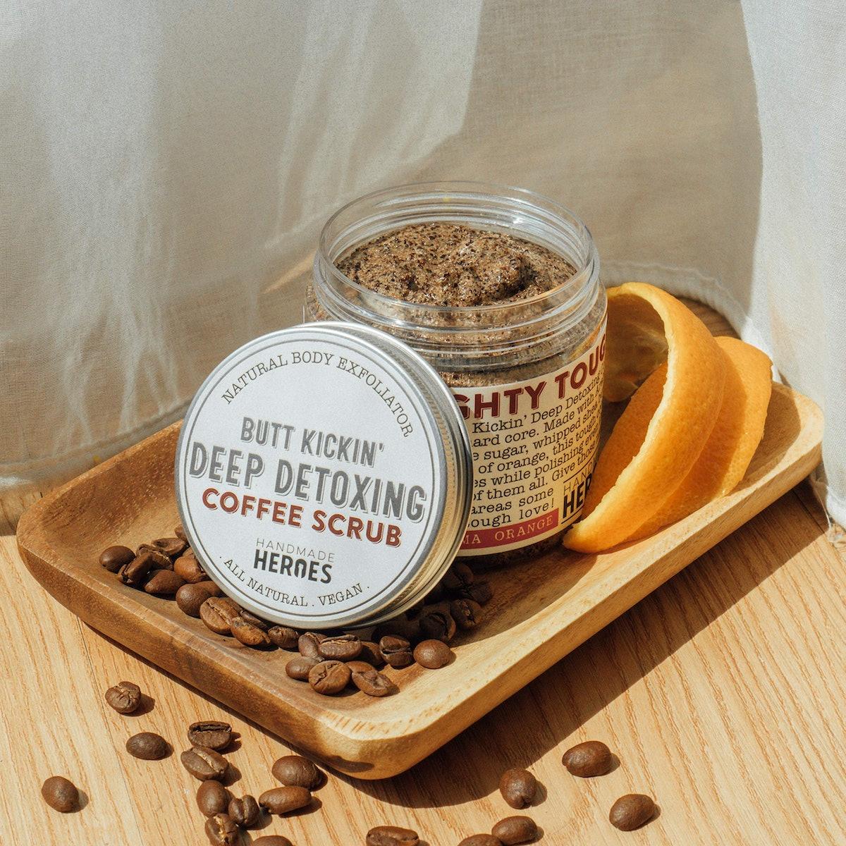 Handmade Heroes Coffee Body Scrub