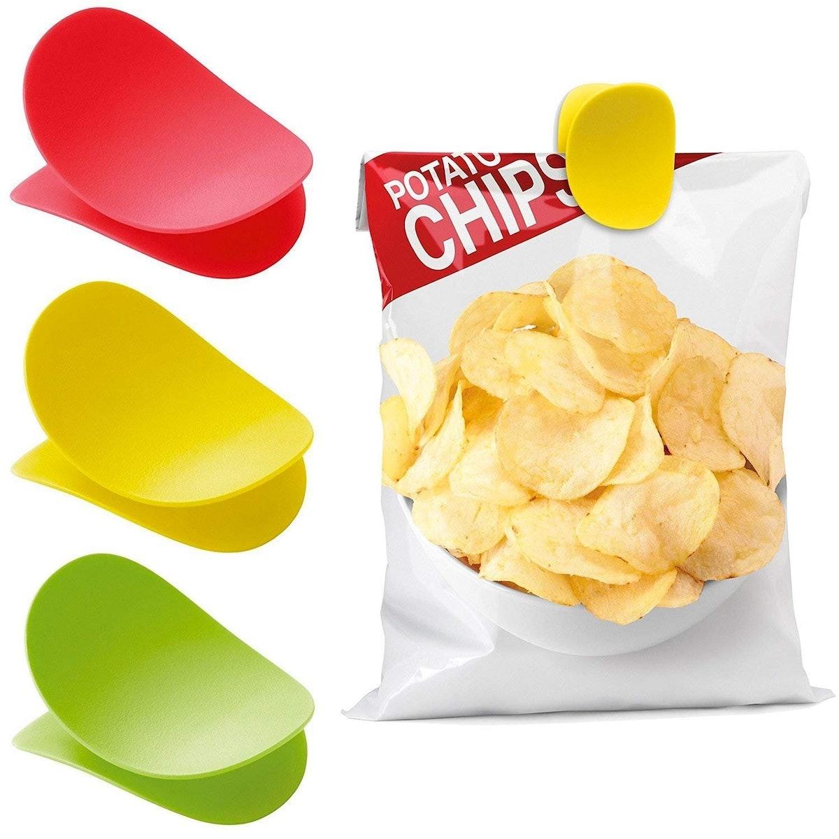 New Soda Chips Bag Clips (3 Pack)