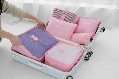 VAYEEBO Luggage Organizers (6 Pieces)