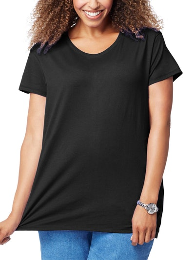 Just My Size Women's Plus-Size Short Sleeve Tee