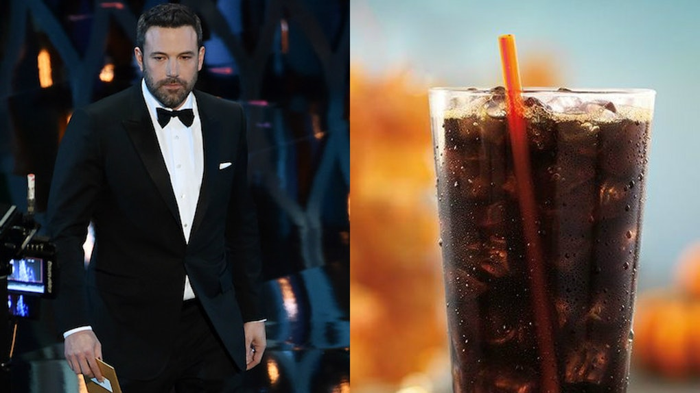 These Photos Of Ben Affleck As Dunkin Beverages Are Hilariously On Point