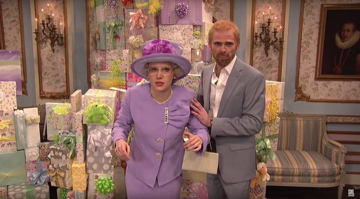'Saturday Night Live' Gave Prince Harry & Meghan Markle The Most Awkward Baby Shower Ever — VIDEO