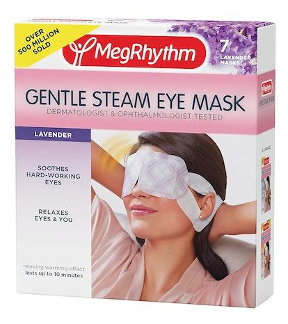 MegRhythm Gentle Steam Eye Mask, Lavender