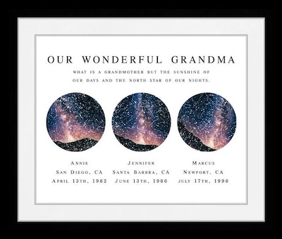 Personalized Sky View Print