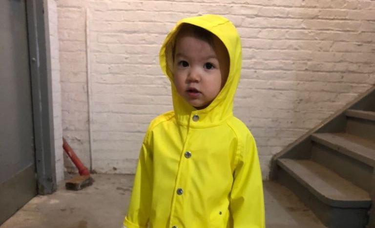 6-9 Months CareTec Kids waterproof Rain Jacket Yellow