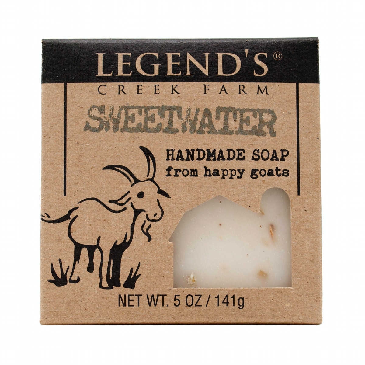Legend's Creek Farm Sweetwater Goat's Milk Soap