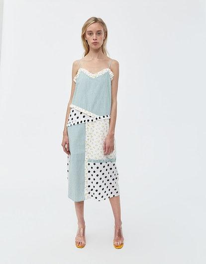 Juliette Patchwork Dress