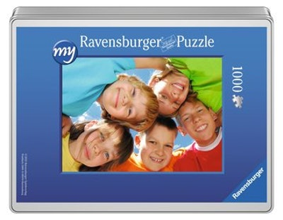 my Ravensburger Puzzle – 1000 Pieces in a Tin