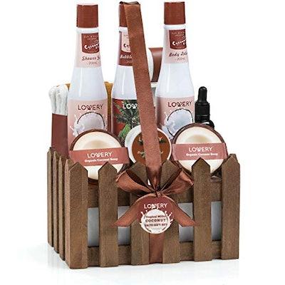 Organic Spa Gift Basket
