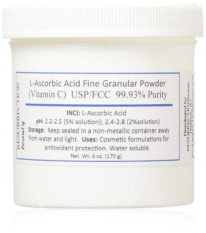 L-Ascorbic Acid Powder (Vitamin C)