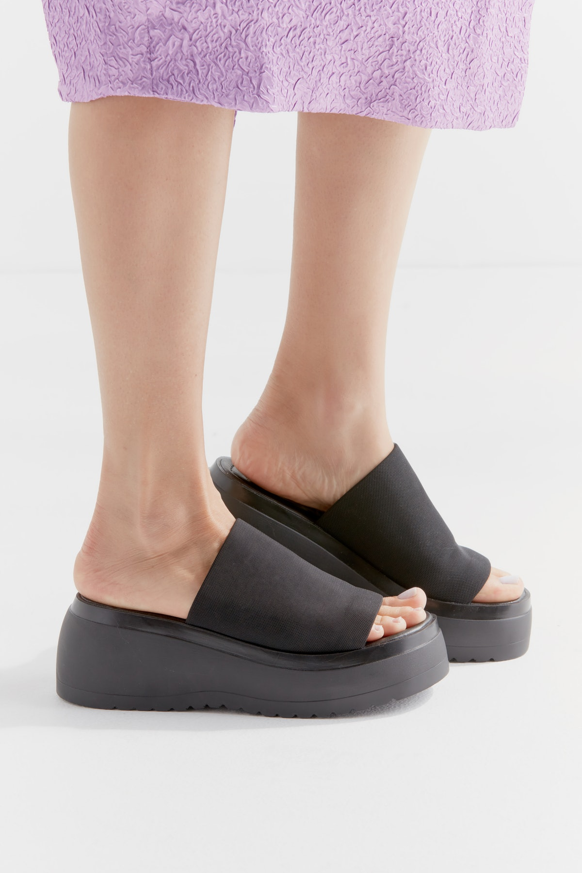 Slinky Platform Sandal