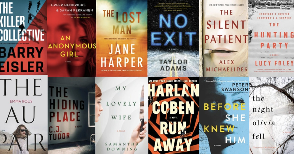 cdc7524eb32 The Most Popular Thriller & Mystery Books Of 2019 So Far, According To  Goodreads