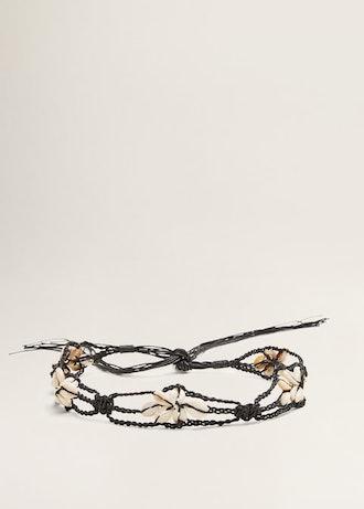Braided Seashell Belt