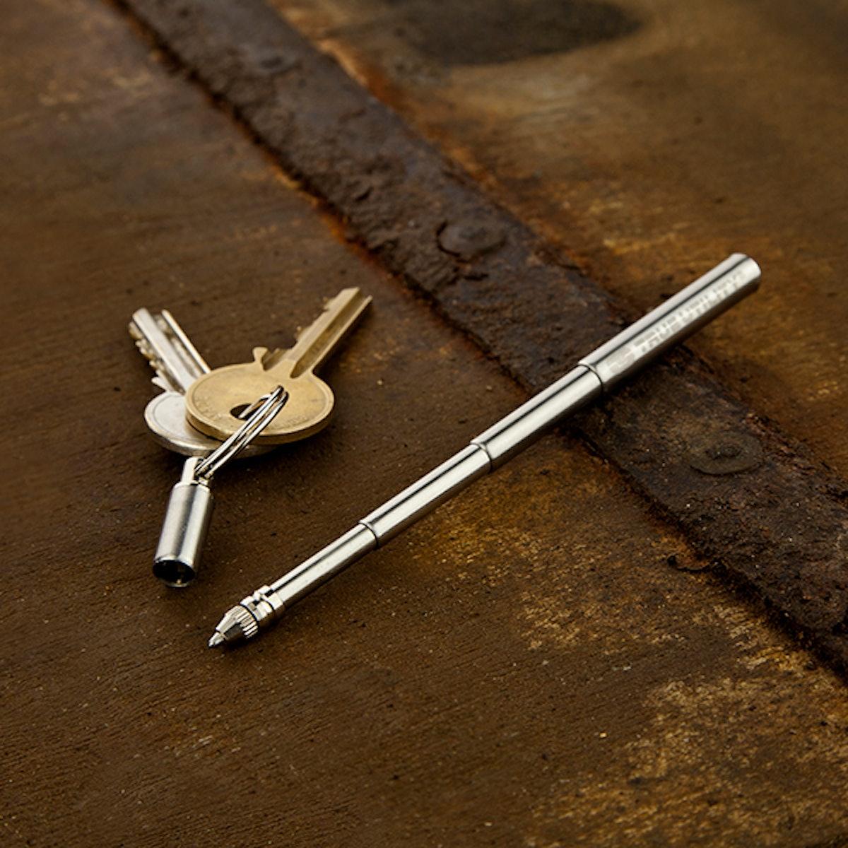 True Utility Mini-Pen Keychain Pen