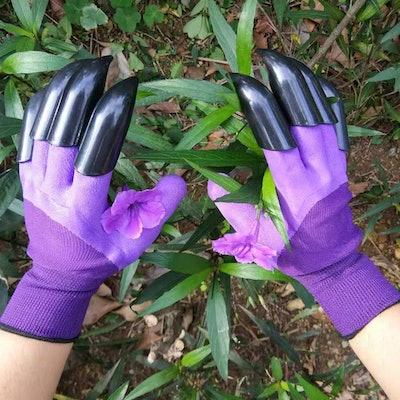 Garden Genie Waterproof Garden Gloves with Claw For Digging