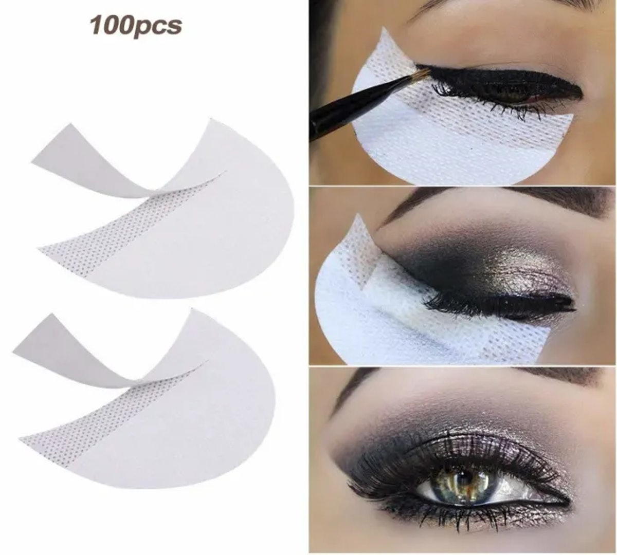 LKE Eyeshadow Stencils (100 Pack)