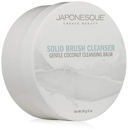 JAPONESQUE Solid Brush Cleanser, Coconut
