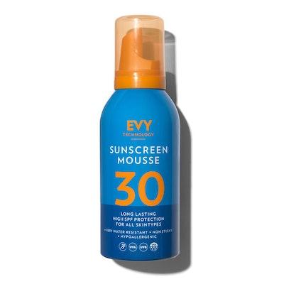 Evy Technology Sunscreen Mousse SPF 30