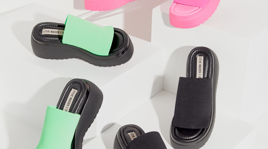 34b0d5434a64 The Steve Madden x Urban Outfitters Collab Brings Back The Iconic Slinky  Sandal — With A 2019 Twist
