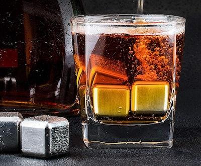 Kollea Stainless Steel Ice Cubes (Set of 6)
