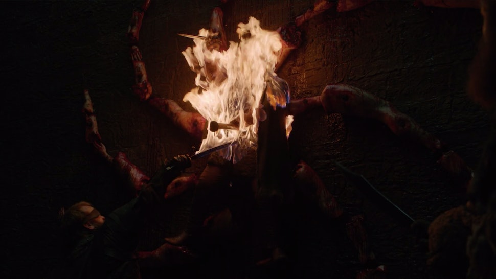 What Was The Night King S Symbol On Game Of Thrones Season 8 Premiere