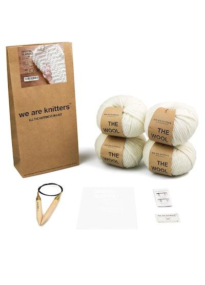 Blanket Knitting Kit