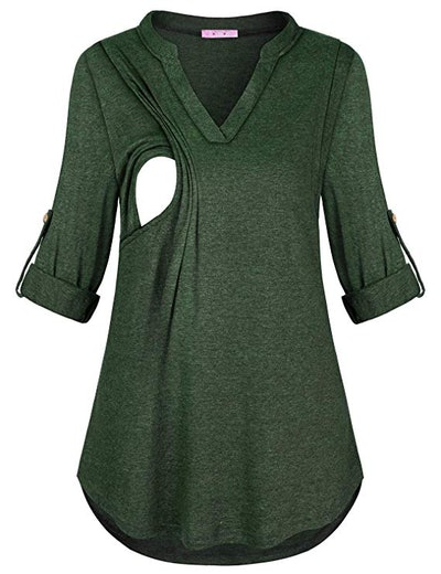 JOYMOM Maternity Nursing Flannel (M-XXL)