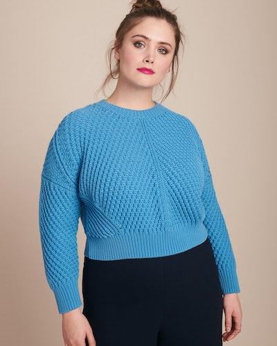 Directional Rib Pullover