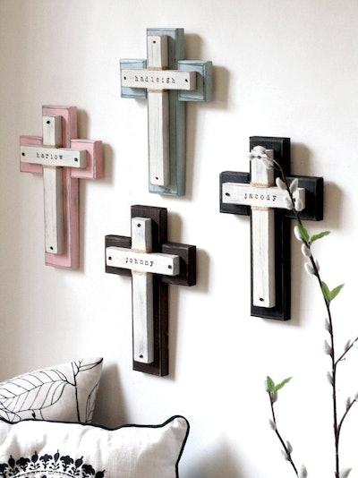Personalized Wood Cross