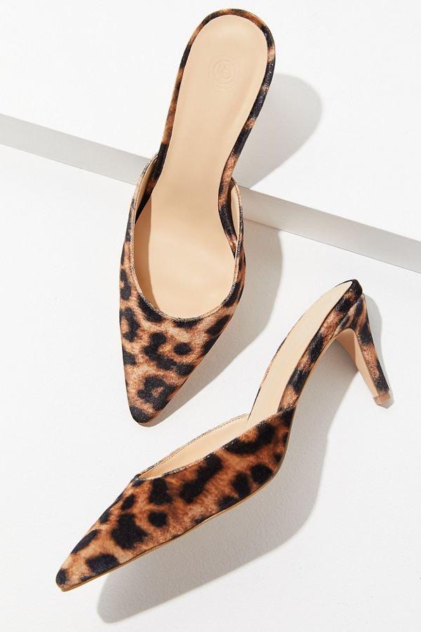 Jennifer Garner's Leopard-Print Heels