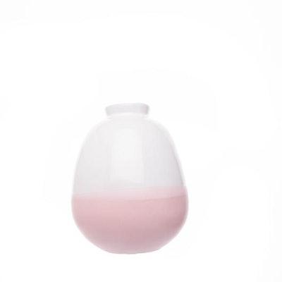 Morandi Large Bud Vase - Dipped Pink