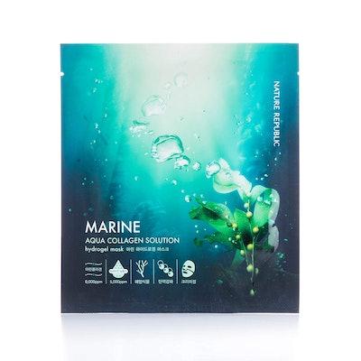 Nature Republic Aqua Collagen Solution Hydro Gel Mask (4 Pack)