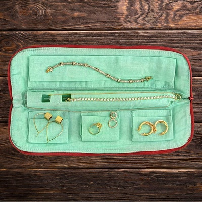 No Knot Travel Jewelry Organizer
