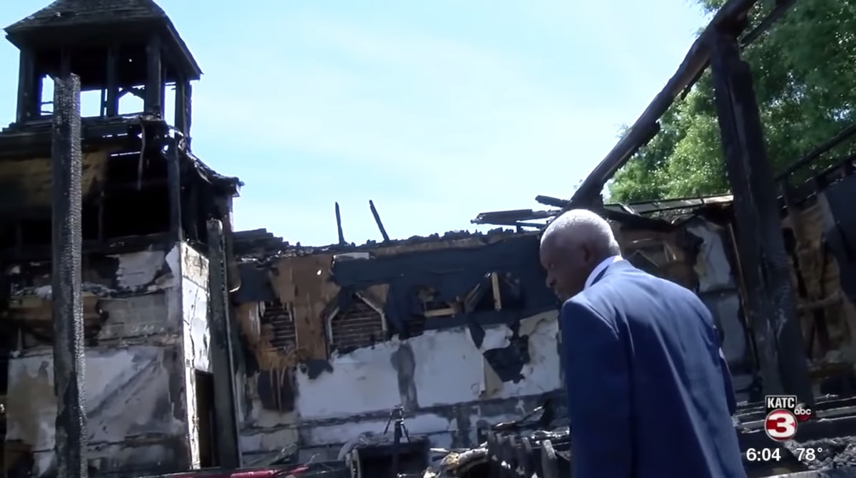 How To Donate To Louisiana Churches That Were Burned Down In An Alleged Hate Crime