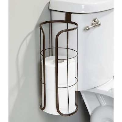 mDesign Over-The-Tank Toilet Paper Holder