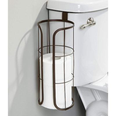 mDesign Over-The-Tank Toilet Paper Holder