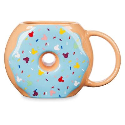 Mickey Mouse Donut Figural Mug