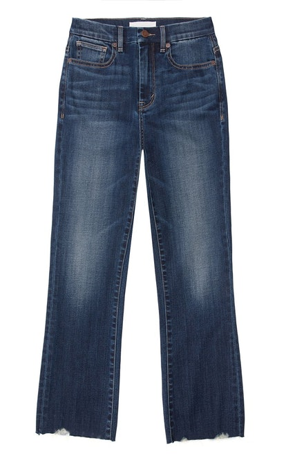 Palo High Rose Crop Flare Double Bite Jeans
