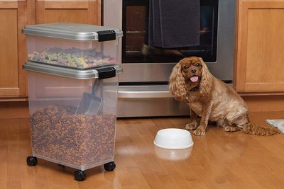 IRIS Airtight Pet Food Container Combo
