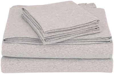 Coyuchi Organic Jersey Sheet Set
