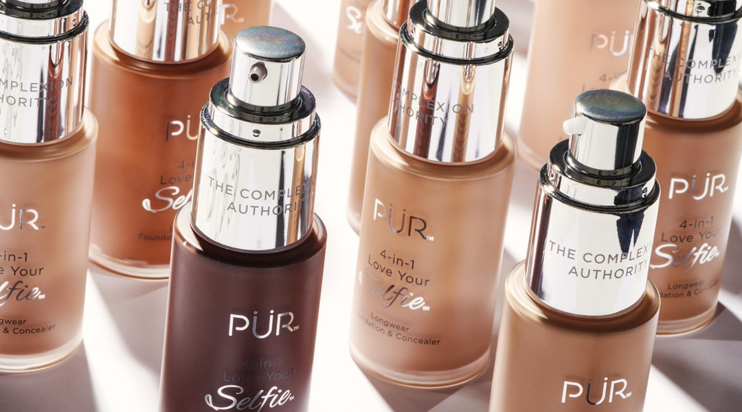 PUR's 4-in-1 Love Your Selfie Foundation Is Taking The Industry's Shade Range To New Levels