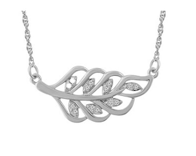 Family Leaf Necklace