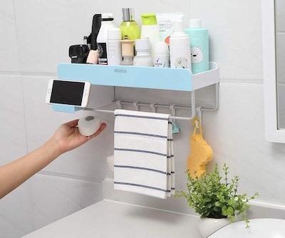iHEBE Adhesive Bathroom Shelf