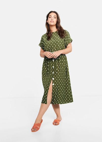 Polk-Dot Dress