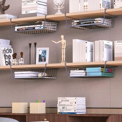 iSPECLE Under Shelf Baskets (Set of 4)