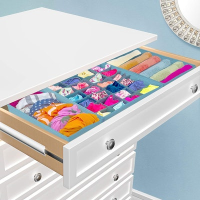 Sorbus Foldable Drawer Organizers (Set of 4)
