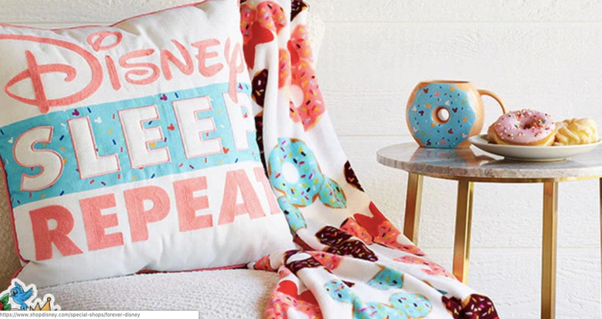 Disney's New Donut-Inspired Items From The Forever Disney Line Are Precious As Heck