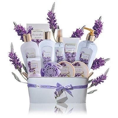 Spa Gift Baskets for Women Lavender