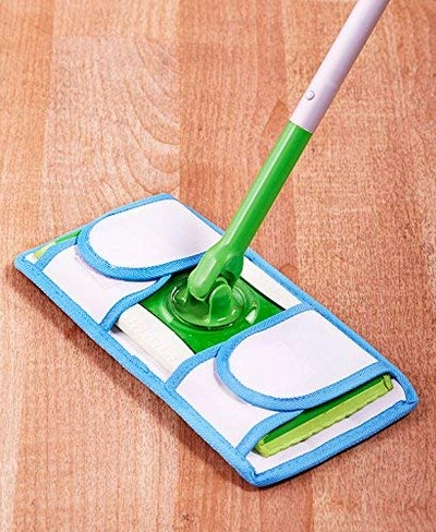Old Home Kitchen Reusable Mop Pads (Set of 2)