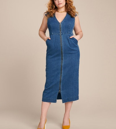 Blue Aleema Dress